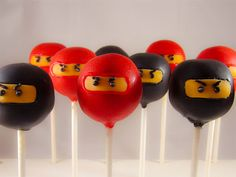 Ninja Cake Pops: Are You Quick Enough to Pop Them in Your Mouth