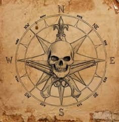 The post Pirate Compass symbol by dashinvaine on deviantART appeared first on Best Tattoos. Pirate Compass Tattoo, Pirate Skull Tattoos, Mandala Compass Tattoo, Pirate Ship Tattoos, Vintage Pirate Tattoo, Pirate Map Tattoo Sleeve, Pirate Tattoo Sketch, Pirate Themed Tattoos, Vintage Compass Tattoo