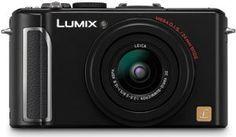 Panasonic DMC-LX3 10.1MP Digital Camera with 24mm Wide Angle MEGA Optical Image Stabilized Zoom (Black)