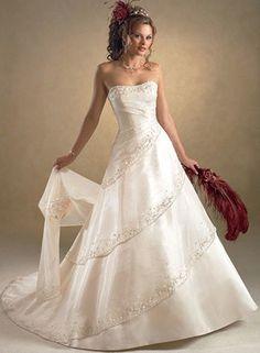 "My wedding dress! ""Pia"" by Maggie Sottero circa 2006."