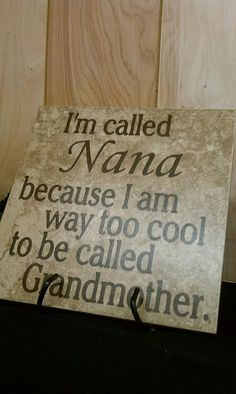 Beautiful Nana Tile by BlingNSwing on Etsy, $24.95