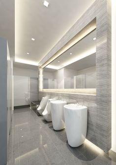 Marble Bathroom Public Area More