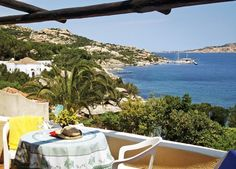 Views from our stunning Rosetta apartment, situated on the gorgeous coast of Porto Rafael, Sardinia: http://www.essentialitaly.co.uk/blog/enjoy-a-blissful-getaway-at-the-romantic-rosetta-this-summer/