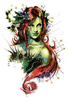 Poison Ivy by VVernacatola.deviantart.com on @deviantART                                                                                                                                                     More