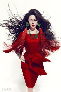 Fan Bingbing photograph by Chen Man