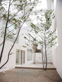 Ideas for house beautiful exterior courtyards Architecture Du Japon, Japanese Architecture, Interior Architecture, Minimal Architecture, Architecture Courtyard, Landscape Architecture, Banco Exterior, Exterior Design, Interior And Exterior