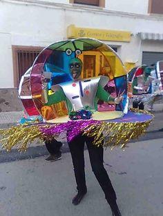 Extraterrestre (Primer premio del concurso de fotografías de carnaval)