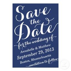 Calligraphy Script Save the Date Announcement #savethedate #weddings