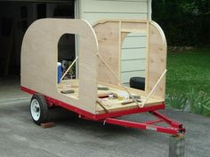 One Man's Journey Building A Teardrop Trailer Project » The Homestead Survival