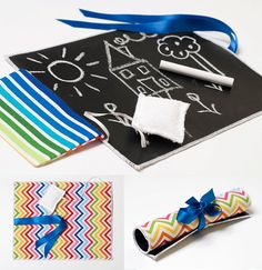 Chalk Board Mats from Big Birds Boutique Via Bambino Goodies - only £8. #christmas