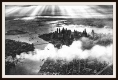 "Photograph Wall Decor ""Sunset Over New York"" 8 x 10 Photo Print Unframed"