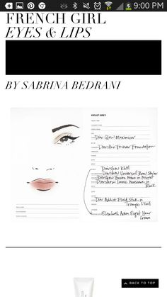 Sabrina gives mistake proof instructions on the French beauty look!What I call the Devil May care look.Now get going,be happy,live life gorgeously!
