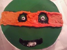 my turtle cake lol not so great