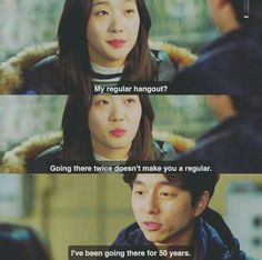 Goblin :The Lonely and Great God Episode 11Goblin and Ji Eun Tak