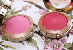 Milani Baked Blush in Delizio Pink (left) and Bella Rosa (right)