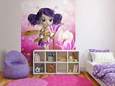Foto Tapete für Kinderzimmer. Ein Hauch von Magie für eine kleine Träumerin!
