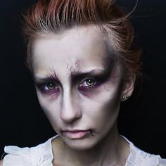 A ghostly halloween look done with intricate makeup techniques. Get some ghoulish inspiration with the use of these products