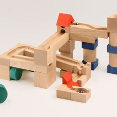 Cugolino Block-and-Marble Run Toy