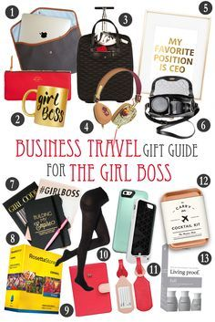 Business Travel Gift Guide for The Girl Boss • The Blonde Abroad