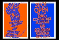KABK Open Day identity, 2009 - icw Mattijs de Wit by Drawswords Studio - Amsterdam