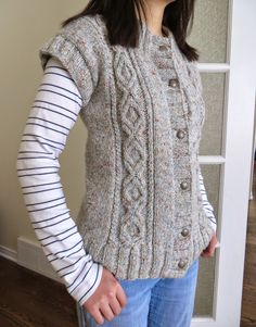 Diversion Showcase: Throw-Back Thursday: My First Sweater Vest Knitting Projects, Really Cool Stuff, Thursday, Crocheting, Knit Crochet, Vest, Pullover, Lighting, Nice