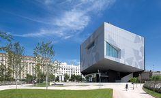 The CaixaForum, an arts center in Zaragoza, #Spain — #Architecture via @archrecord