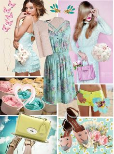 """Sweet spring"" by elske88 ❤ liked on Polyvore"
