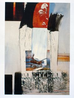 Robert Rauschenberg Kite, 1963 Oil and colour serigraphied on canvas,  cm 213 x 152 Mart, Ileana Sonnabend Collection, Rovereto