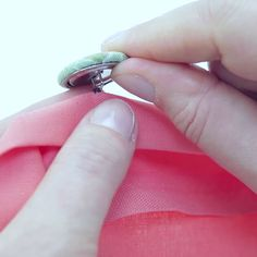 How to Sew on a Shank Button by Hand