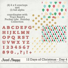 12 Days of Christmas � Day 4.*