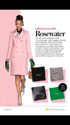 """In Style Fall Color Crash Course: """"What to Wear with Rosewater"""""""