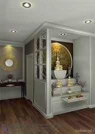 Apartment city decor dreams 46 New ideas Pooja Room Design, Home Room Design, Pooja Rooms, Apartment Interior, Temple Design For Home, House Interior, Room Door Design, Meditation Room Decor, Pooja Room Door Design