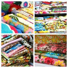 some of my vintage fabrics