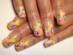 cool nail art designs 2017 - style you 7 Nail Designs 2014, Nail Art Design 2017, Nail Art Design Gallery, Best Nail Art Designs, Art Gallery, French Nails, French Acrylic Nails, Nail Art Palmier, Nail Art Abstrait