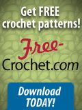 FREE Crochet Patterns: Easy baby hat crochet pattern! (FREE) Baby Beanie with Flower (cluster