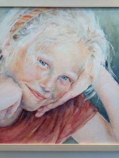 Hannie Damen portret