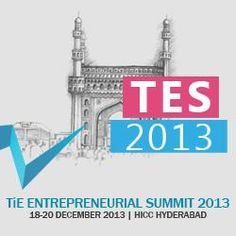 TiE ENTREPRENEURIAL SUMMIT (TES) 2013 at HICC, Hyderabad http://www.meraevents.com/event/tes2013