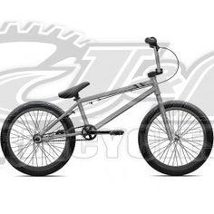 BMX MADD Freestyle 20 in MGP noir mat vert
