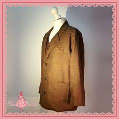 """Feine Schnitte Berlin """"Worker's Suit"""" (Jacke) #forties #fifties #vintage #retro #VintageFashion #RetroFashion #heritage #wool #1940 #1940ies #1950 #195ies #swing #rocknroll"""