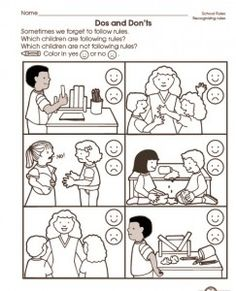 Back to school worksheet for kids