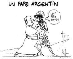 Tango ! Un pape argentin, le dessin du jour, par Kroll