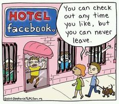 This seems a fair assessment of Facebook users...