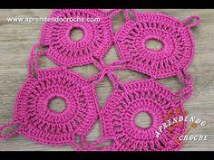 União de Motivos Circulares - Aprendendo Crochê
