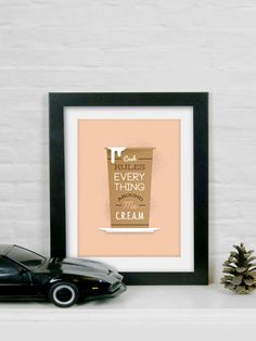 Cash Rules Everything Around Me C.R.E.A.M A4 Art by TorsoVertical, £10.00
