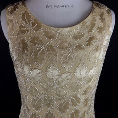 🆕NWT Banana Republic gold silk beaded top Gorgeous champagne gold silk sleeveless top has full covered button back closure and beading all over. Top has never been worn but has a few loose beads, but nothing major. Overall is still in great condition. 👉🏻New items only receive further discounts if bundled. Please read my 'about me' listing for my closet policies before any inquiries/offers. For preloved items, respectful/reasonable offered 'considered'. Keep in mind PoshMark takes 20%…