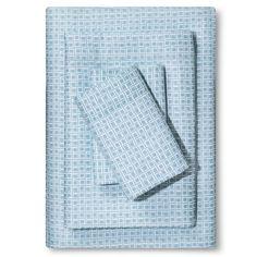 Microfiber Sheet Set Caribbean Aqua (Full) - Room Essentials