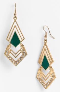 #Carole #Triangle #Chandelier #Earrings #nordstorm