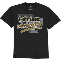 Wake Forest Demon Deacons Fanatics Branded Toddler Future Star T-Shirt - Black