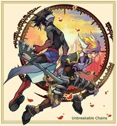 Awesome art of Ventus and Vanitas from Kingdom Hearts:Birth by sleep