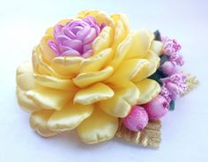 Hey, I found this really awesome Etsy listing at https://www.etsy.com/listing/243931266/yellow-flower-hair-accessory-yellow-hair
